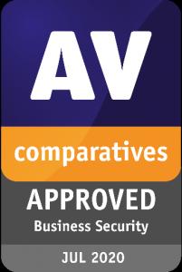 Enterprise Test H1 2020 Certificate - AV-Comparatives