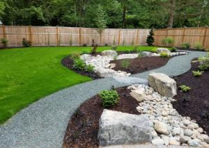 landscaping problem areas - french drain
