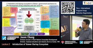 Jason Chang from ITRI