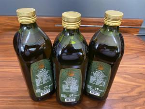 OliveOilsLand®  1000  ml  Glass Bottle Extra Virgin Olive Oil