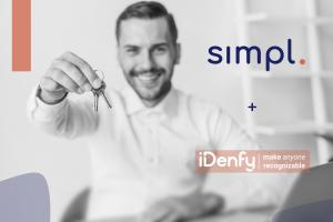 iDenfy and Simpl.rent partnership