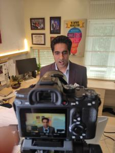 Virtual Keynote Speaker Simerjeet Singh to present Leading an Inspired Life at Kiran 2020