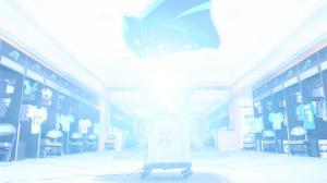 Xenex LightStrike Robot Carolina Panthers' Locker Room