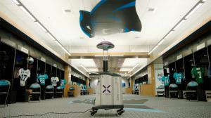 Xenex LightStrike Robot Carolina Panthers