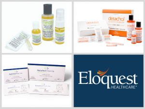 Eloquest Healthcare Logo and Brands