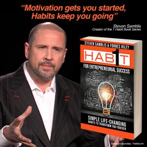 Steven Samblis - Founder of 1 Habit Press and creator of the 1 Habit book series