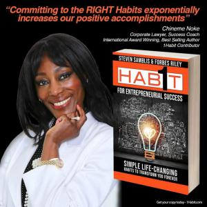 Chineme Noke, 1 Habit™ for Entrepreneurial Success Contributor