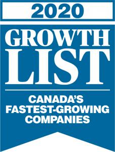 2020 Growth Award Logo