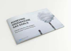 Achieving Greenhouse Gas Goals - Metal Industry Strategies report cover image