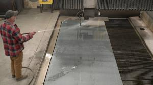 Industrial Resources Incorporated Waterjet