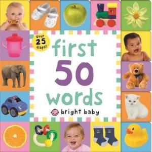 First 50 Words Bright Baby