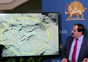 NCRI-US Deputy Director, Alireza Jafarzadeh, showed maps, graphs, and charts of the covert organization as well as names of individuals involved in the Iranian regime's nuclear program – October 16, 2020