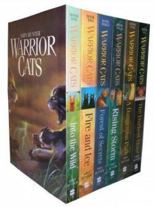 Warriors Cats Series 1 - Six Books Collection Set By Erin Hunter