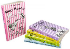 Mary Poppins The Complete Collection 5 Books Box Set