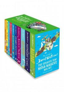 The World Of David Walliams Terrific Ten Mega Massive 10 Books Collection Box Set