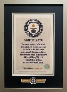 Marg Erp Guinness Book of World Records