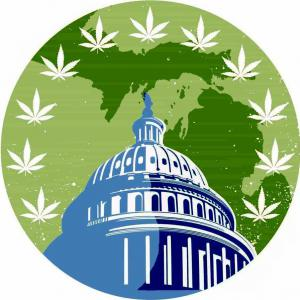 Cannabis Caucus of the Michigan Democratic Party logo
