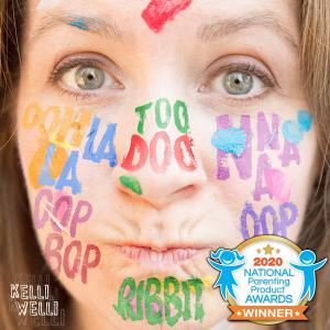 Ooh La La Too Doo Na Na Oop Bop Oop Bop Ribbit album cover with NAPPA Award