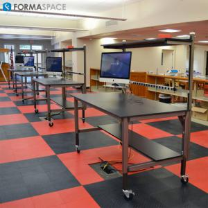 custom furniture for educational classroom or library