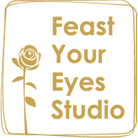 Feast Your Eyes Studio Logo