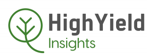 Logo of High Yield Insights, a market research firm focused on cannabis