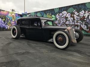 TJ Russell's 1933 Plymouth hot rod
