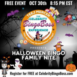 Calling All Families For Virtual Halloween Bingo!