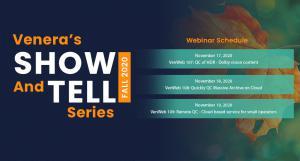 Venera's Show & tell Series - Fall 2020