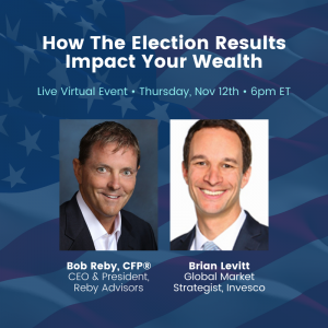 How The Election Results Impact Wealth Virtual Event with Bob Reby & Brian Levitt