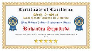 Richandra Sepulveda Certificate of Excellence Evans GA