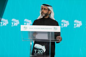 Fahad M Alturki, vice president and head of research at King Abdullah Petroleum Studies and Research Center (KAPSARC) and T20 chair