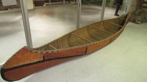 First Nations Authentic Canoe
