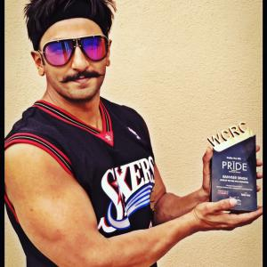 Ranveer Singh gets WCRCINT Pride Awards