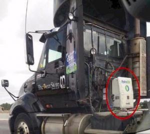 dynaCERT HG unit installed on diesel Truck