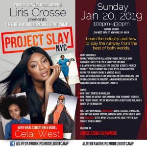 Life of A Working Model Model Bootcamp Come Learn The Industry and How to Slay The Runway