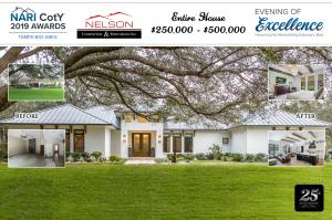 CotY Award for Entire House Remodel