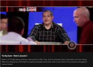 Rick Rahim Millionaire Businessman on The Big Game